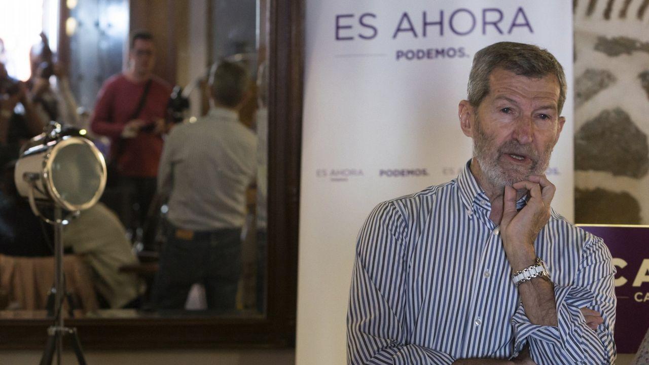 | Europa Press.El ex jefe del Estado Mayor de la Defensa Julio Rodríguez, ganador de las primarias de Podemos para optar a la alcaldía de Madrid, era el candidato de Iglesias para controlar la lista de Carmena.