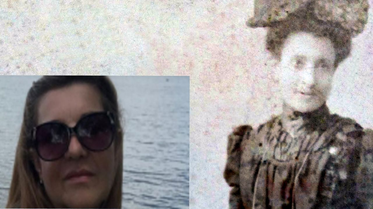 separadas.La argentina de ascendencia gallega Norma Graciela Moure podría ser la bisnieta de Marcela Gracia Ibeas. En su casa de Buenos Aires guarda documentos y fotografías inéditas de su bisabuela y su familia coruñesa, como la de la imagen