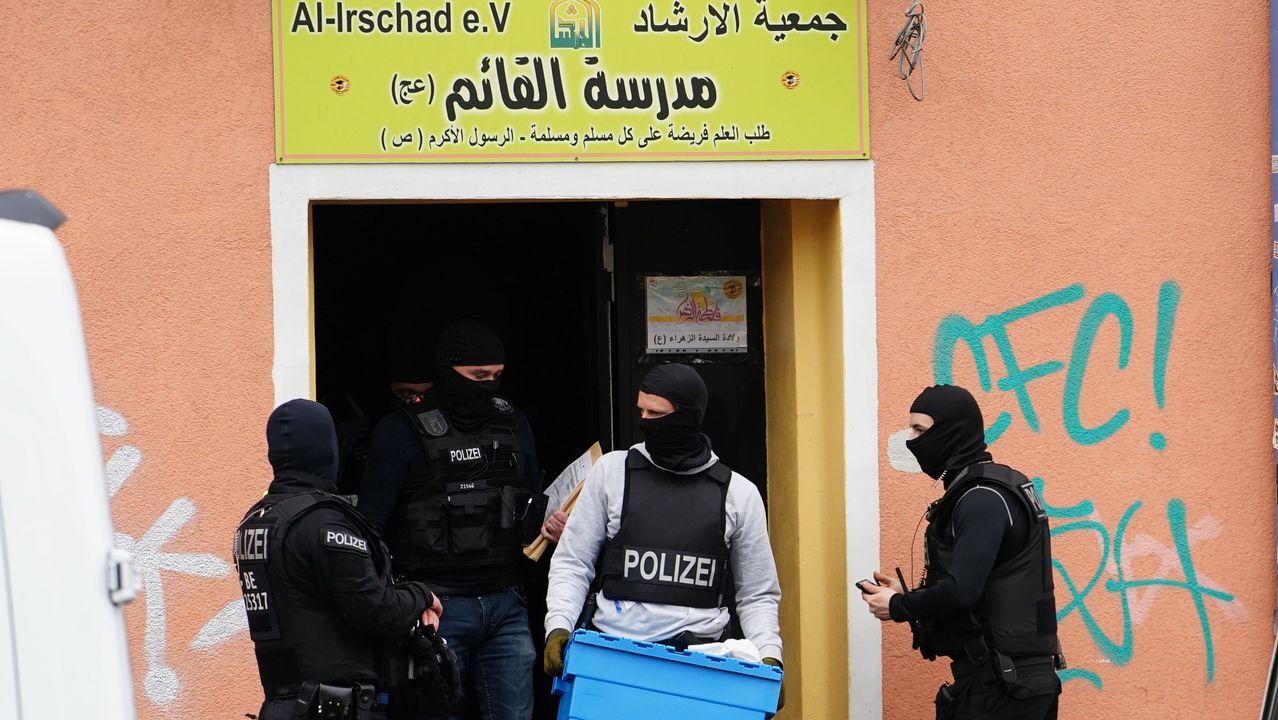 La sede de la asociación Al Irschad es uno de los lugares vinculados a Hezbolá donde la policia ha llevado a cabo redadas