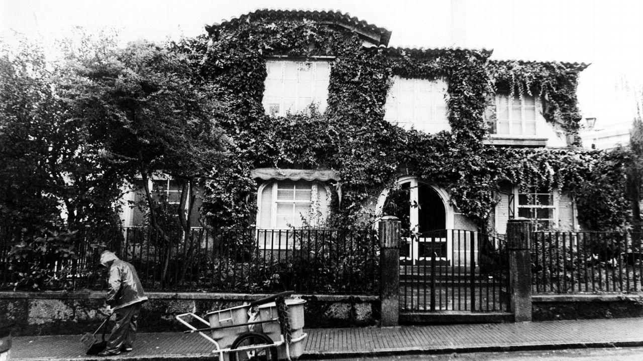 Casa del expresidente de la Xunta