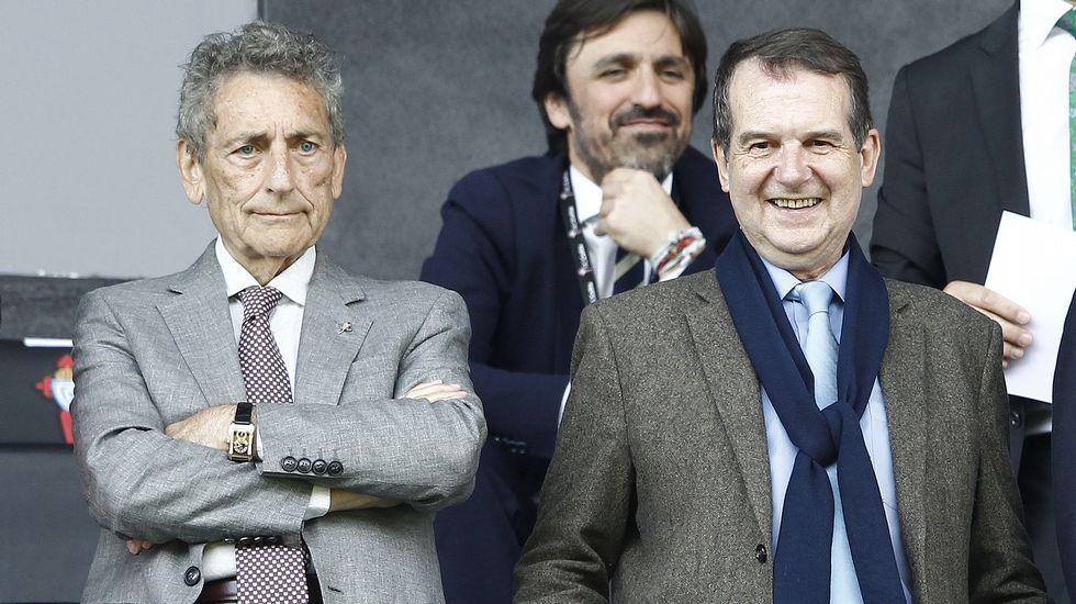 Los diez años de Mouriño como presidente del Celta