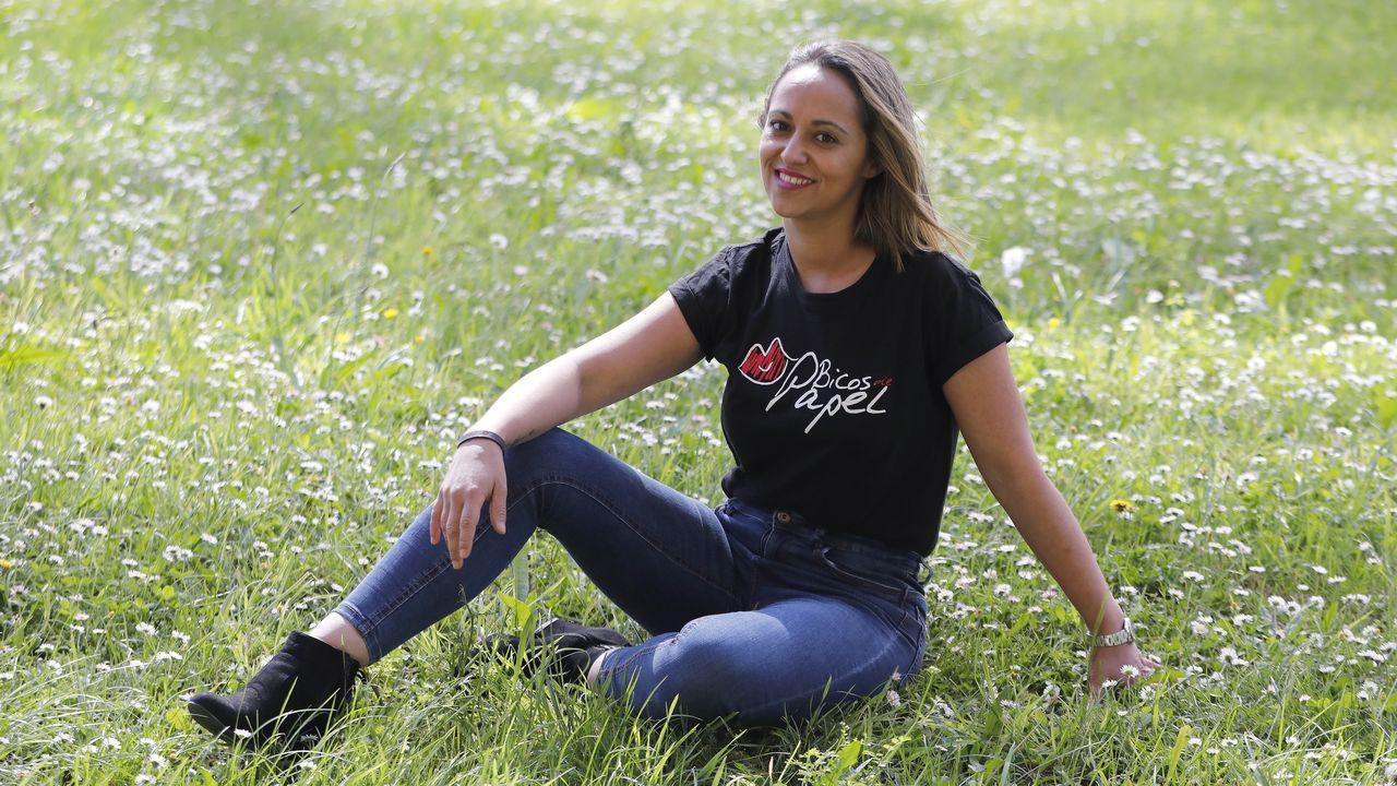 Promo de «The Last Rave».La psicóloga Alejandra Santos es la profesional que imparte el taller en Pontevedra