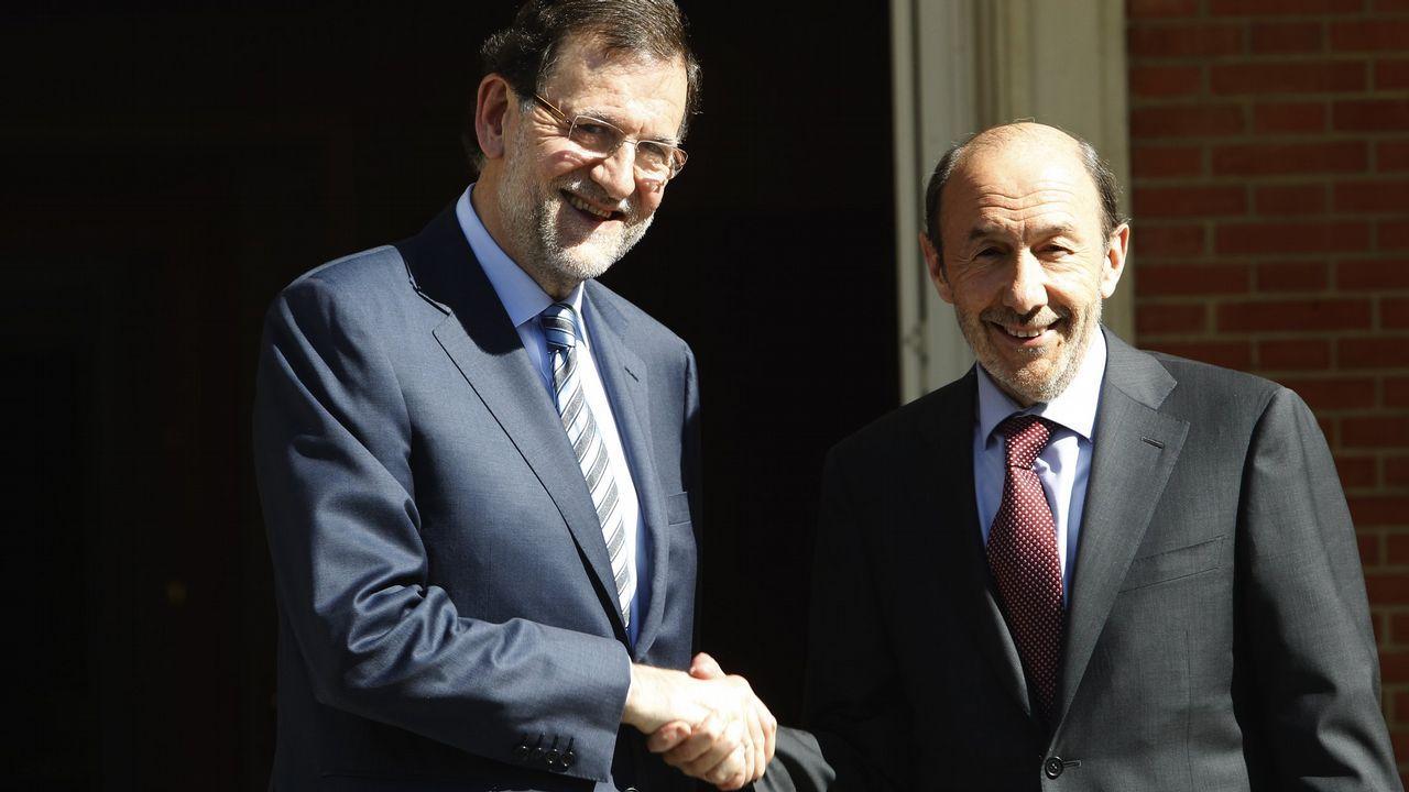 Reunión con Mariano Rajoy en Moncloa en el 2013