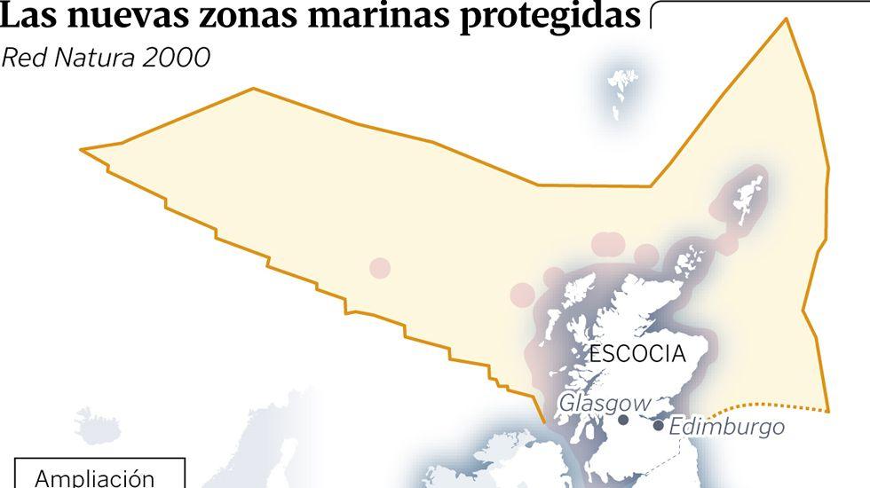 Las nuevas zonas marinas protegidas