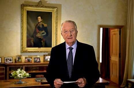 El discurso íntegro de la abdicación del rey Juan Carlos.El rey Alberto II de Bélgica, durante su discurso de ayer en el Palacio Real de Bruselas.