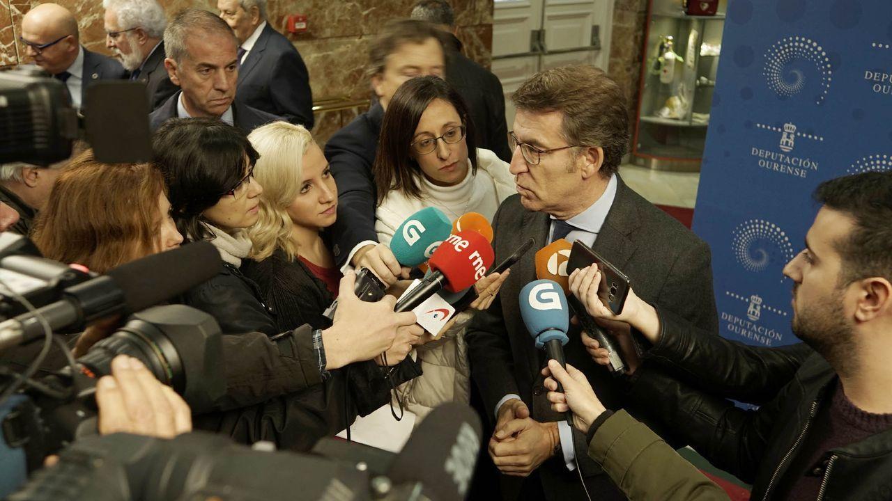 Núñez Feijóo: «Sánchez nos ha metido en un lío mayor que en el que estábamos».ELECCIONES GENERALES 10N