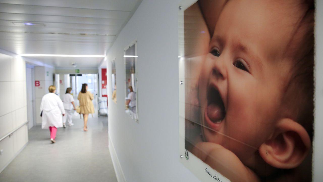 Lograndesencallar el Ever Given.Exposición sobre la lactancia materna en el HULA
