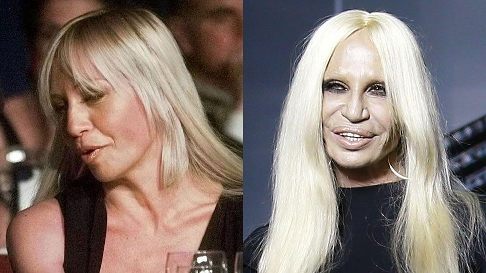 Donatella Versace.El cambio de Donatella Versace