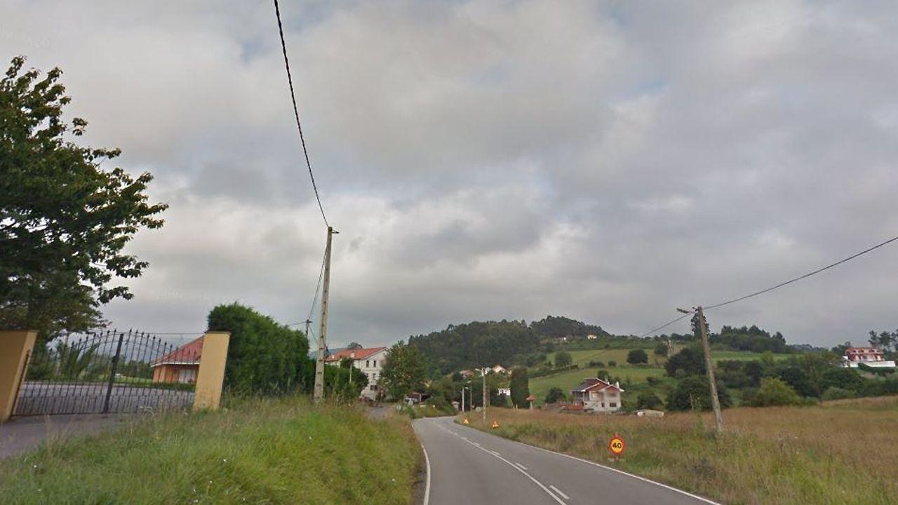 Salinas, Castrillón, playa, Asturias,.La Cangueta