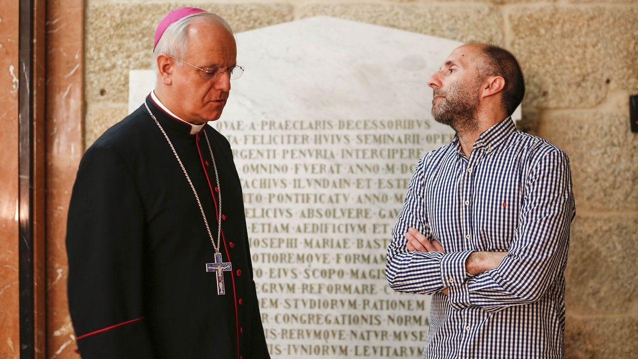Devoción mariana.El cardenal George Pell a su llegada a la Corte Suprema de Victoria, en Melbourne