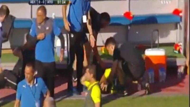 Alcanzan con una bengala al exdeportivista Kaká