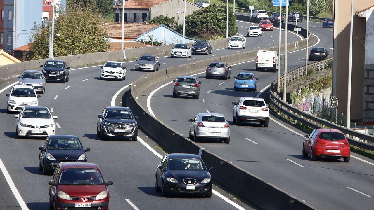 Tráfico en Vigo