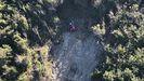 Rescate del senderista que se desorientó y quedó enriscado en el pedrero de Lledon de La Ería