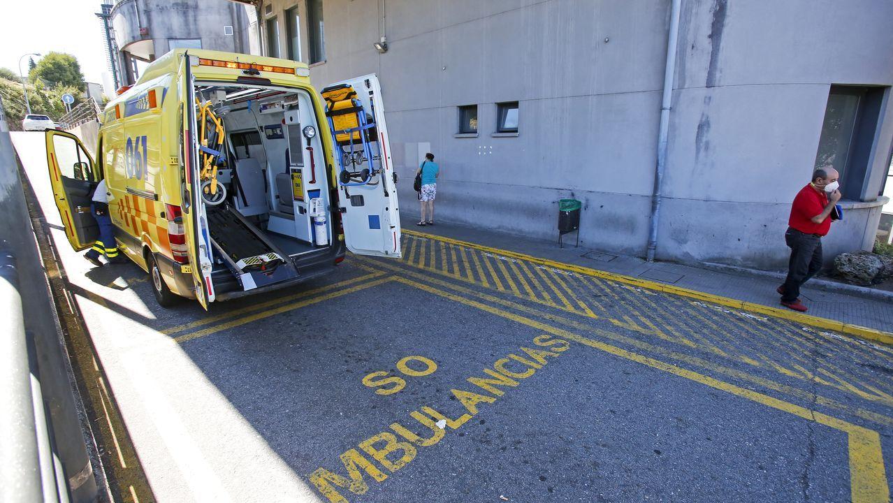 En el Hospital Montecelo, en Pontevedra, hay este luens dos pacientes de coronavirus graves en la uci