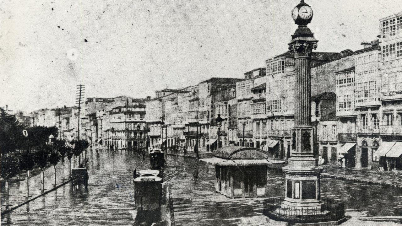 El Obelisco, en 1910