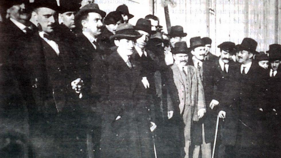 Vía Galega conmemora o 100 aniversario do Manifesto de Lugo