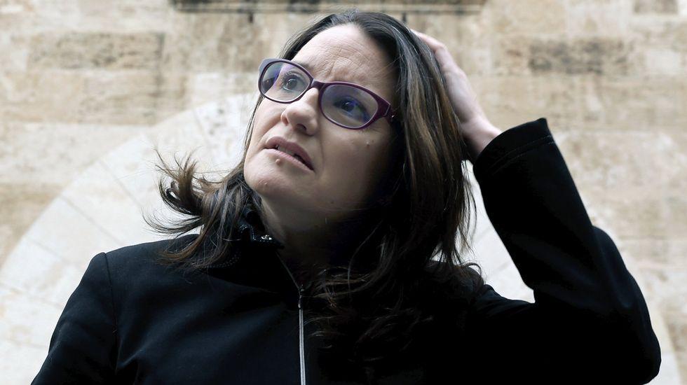 Mónica Oltra, vicepresidenta del Gobierno valenciano