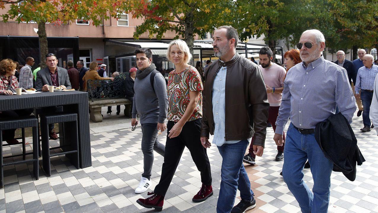 «Es hora de la política útil» | Spot Más País.Íñigo Errejón durante una reunión con las bases del partido Más Madrid