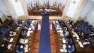 Pleno de la Diputación de Lugo de octubre del 2020 en San Marcos
