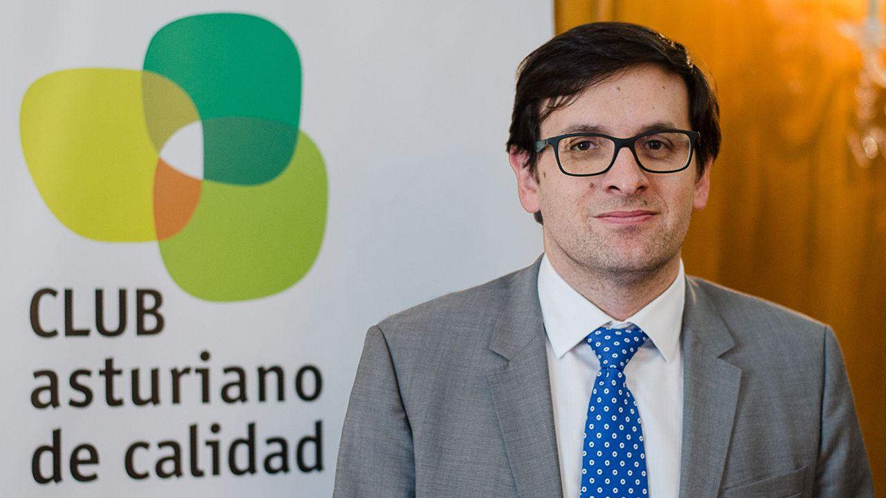 Jesús Daniel Salas, nuevo presidente del CLUB asturiano de calidad
