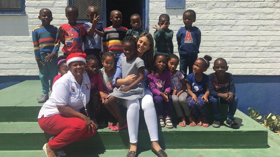 PESCANOVA. Guardería de Lüderitz (Namibia) a la que asisten un centenar de niños de hasta 5 años, hijos de trabajadores en Namibia.