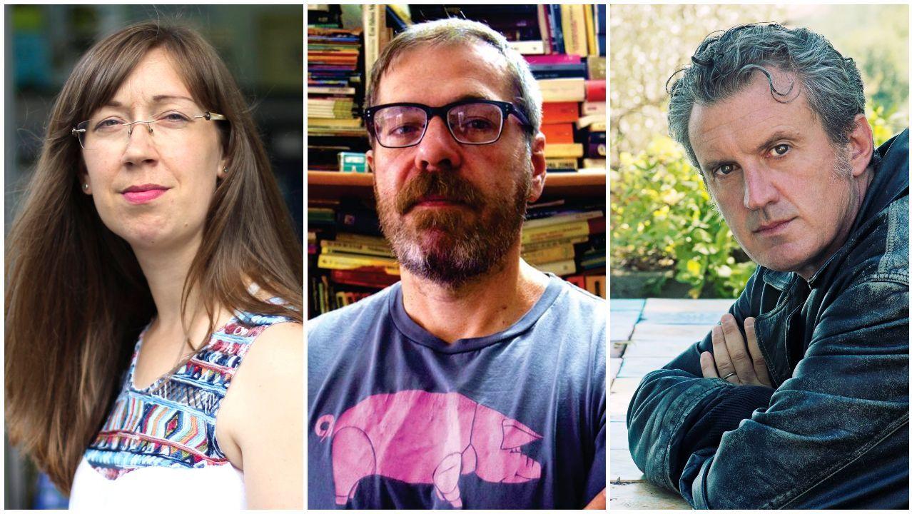 Emma Pedreira, Carlos Busqued y Antonio Manzini, ganadores de los premios San Clemente