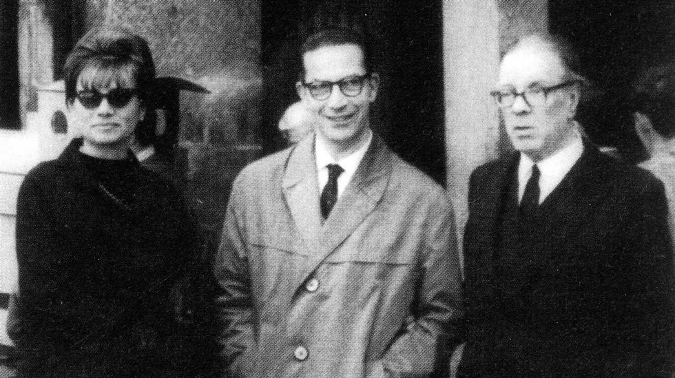De esquerda a dereita, Ben-Cho-Shey, Risco e Otero en 1927