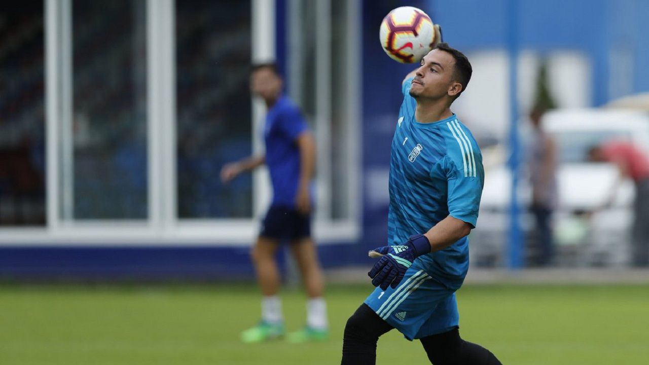 Gol Toche Real Oviedo Extremadura Carlos Tartiere.Alfonso Herrero en El Requexón