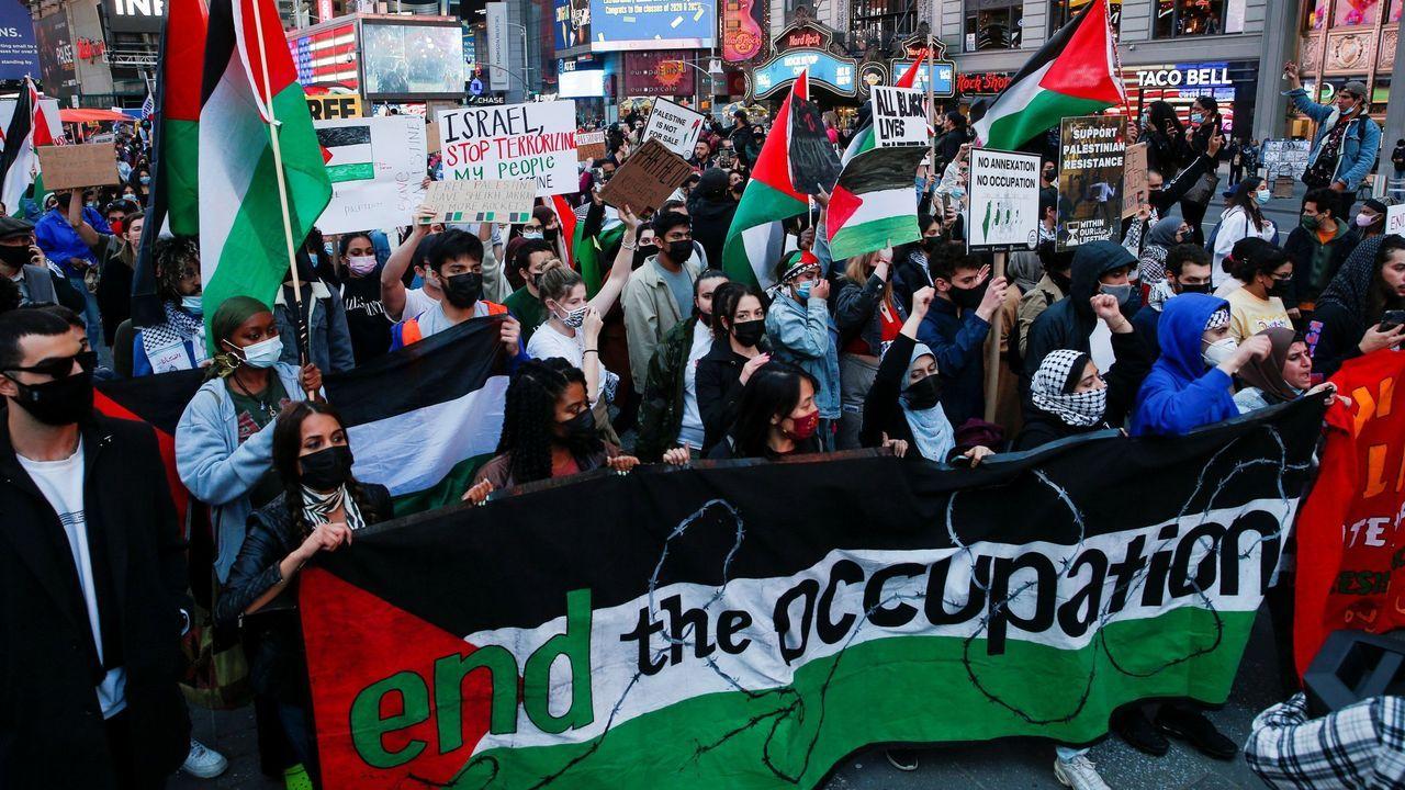 Manifestación del pasado dia 11 en Nueva York
