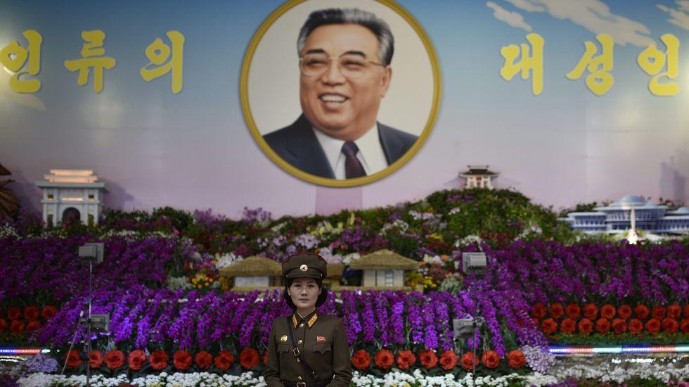 Corea del Norte provoca un terremoto de 5,3 grados.Kim Jong-un, líder de Corea del Norte