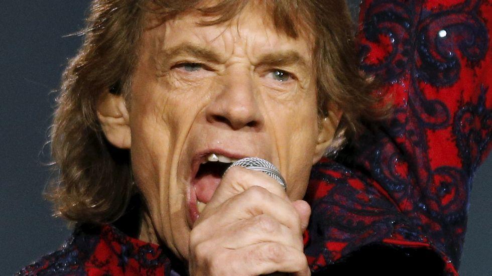 Los Stones dicen «¡Hola!» a Cuba.Tres leyendas sobre el escenario: Keith Richards, Mick Jagger y Ronnie Wood