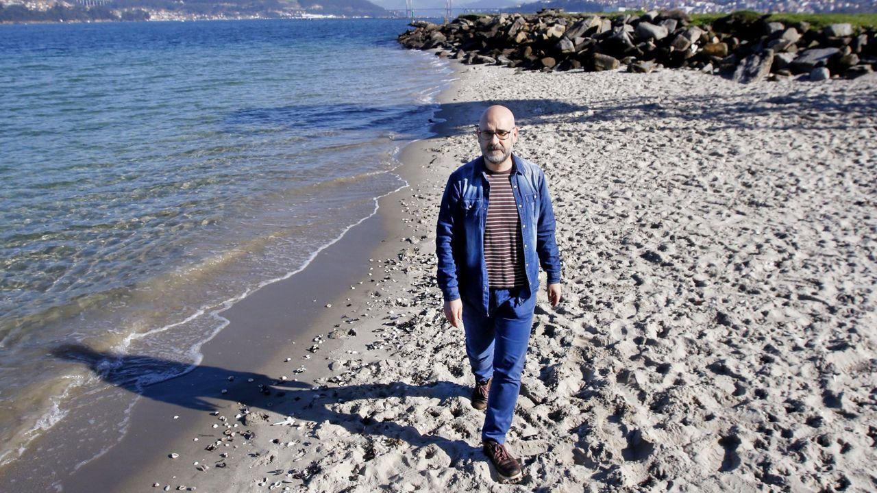 O escritor e editor Francisco Castro