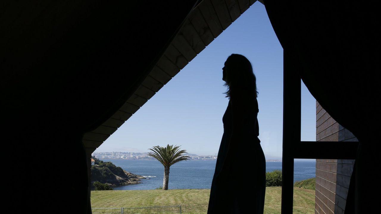 Los miradores con las mejores vistas de la provincia de Lugo.O músico Xoán Curiel.