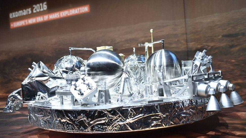 La NASA ya estudia el lugar para aterrizar en Marte