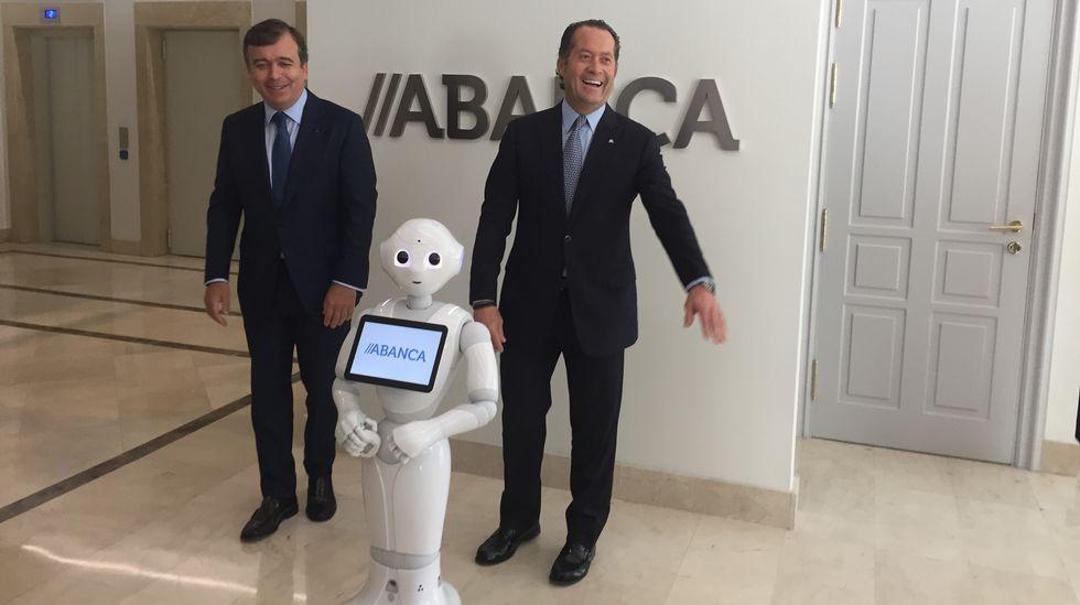 Abanca inaugura su nueva sede en Madrid.Arturo Elías.