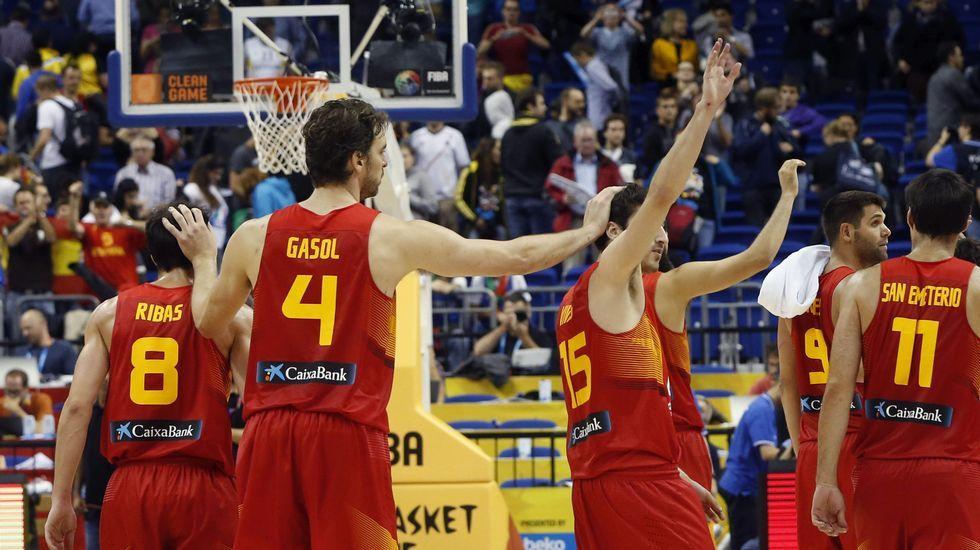 El España-Italia, en fotos