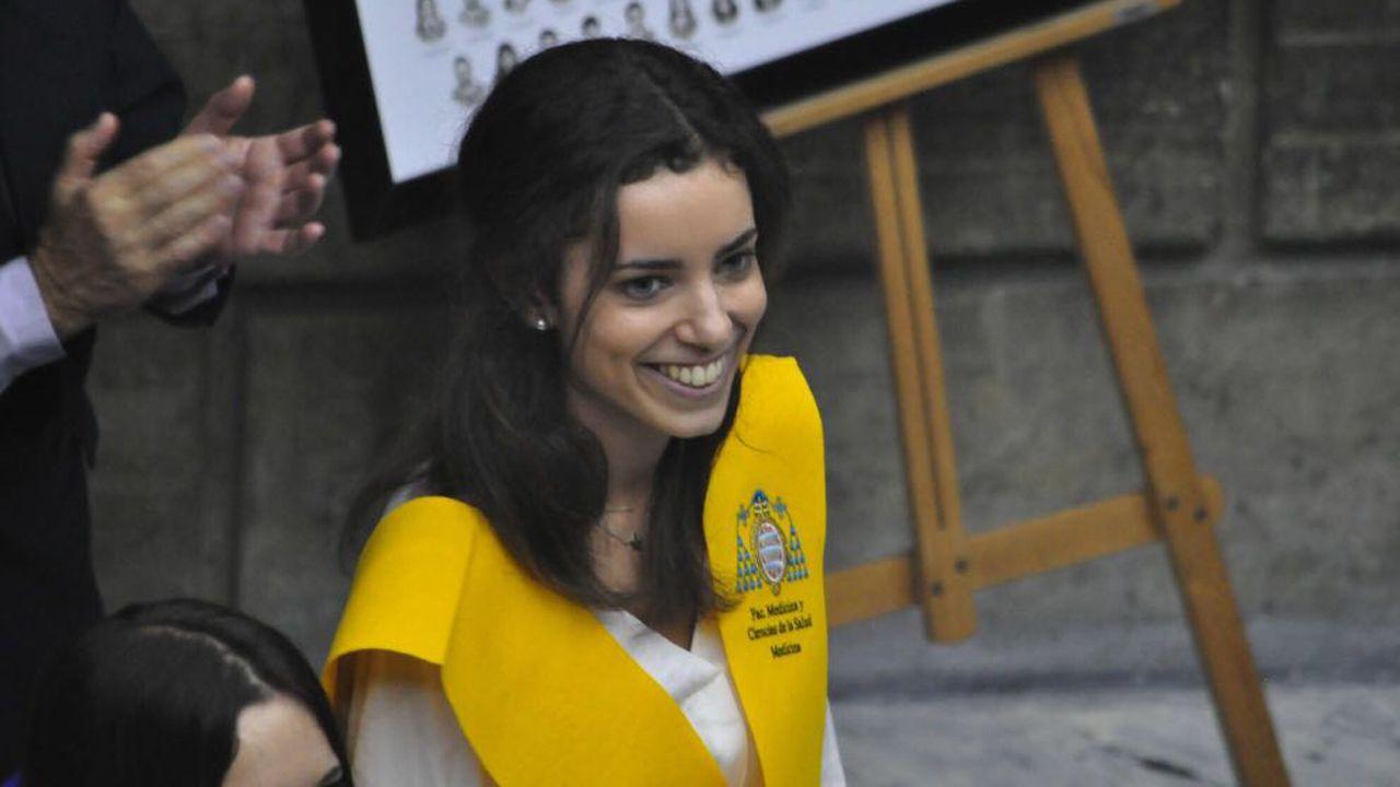 Victoria Vega,  puesto 38, es la asturiana con mejor nota en el MIR