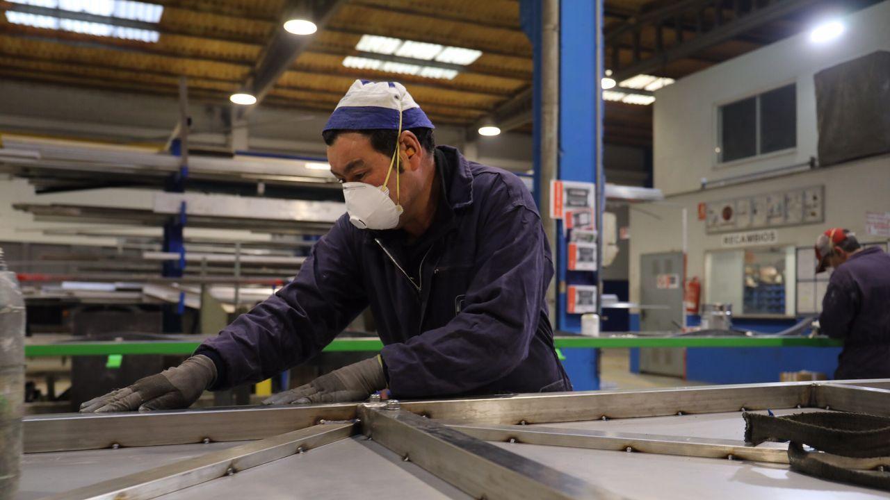 Empresas que vuelven al trabajo en el Polígono del Tambre