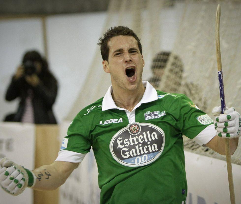 El delantero asturiano Toni Pérez mantuvo en Mataró su habitual cita con el gol.