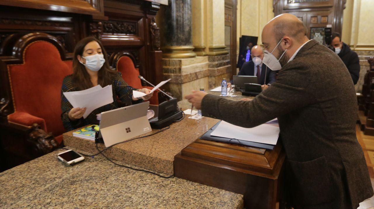 En directo | Sigue el pleno ordinario del Ayuntamiento de A Coruña