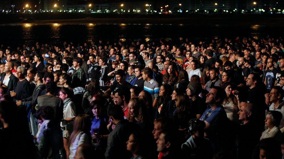 Tachenko.Público en la edición del Noroeste Pop Rock del 2011