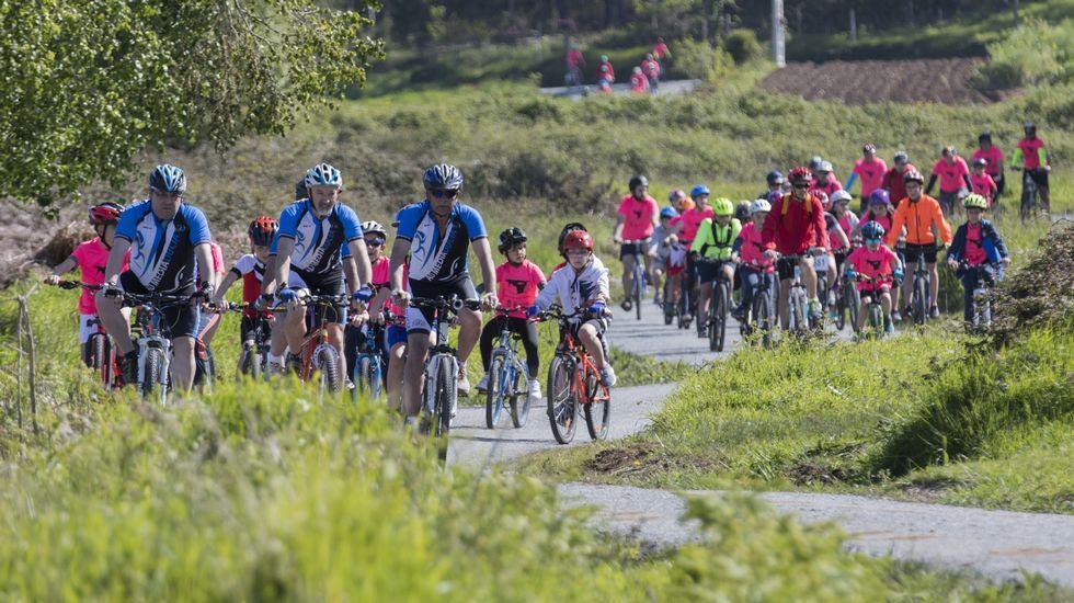 Cabana inaugura el ciclo de Días da Bicicleta: ¡búscate en las imágenes!