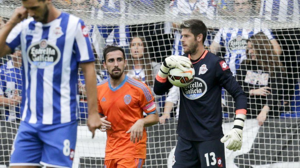 Fabricio acaba la temporada posiblemente como el mejor futbolista del Deportivo.