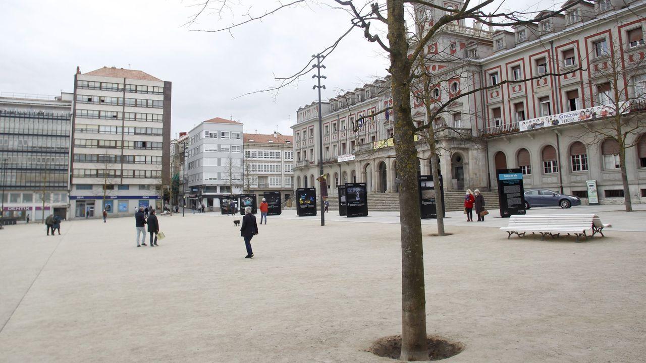 Una de las concentraciones del martes tendrá lugar en la plaza de Armas