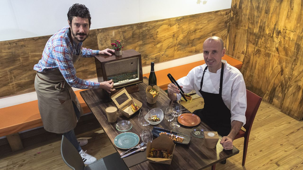 Jacobo Mojón pone la música y Luis Romaní la comida, en Sybaris 2.0