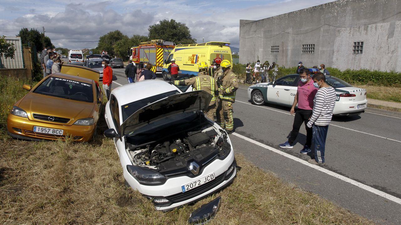 El accidente tuvo lugar en la carretera de Cabodeiro