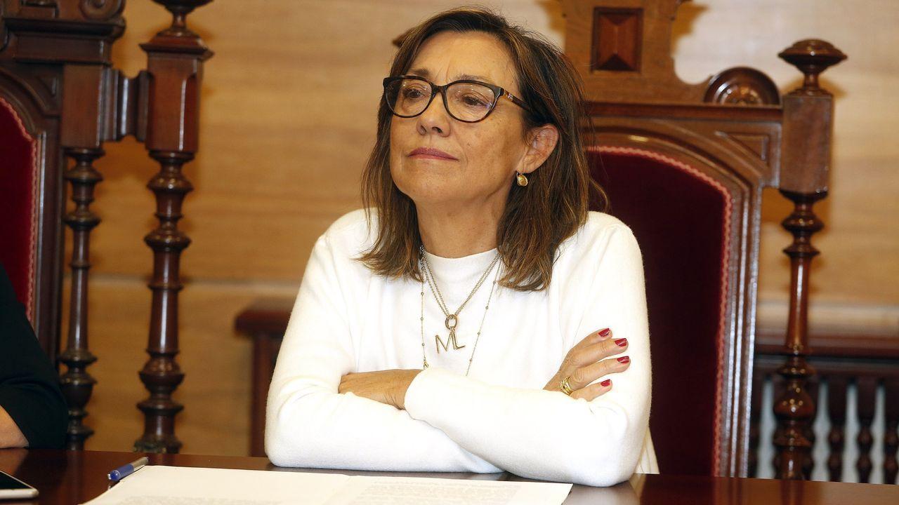 Susana Fortes se escapa siempre que puede a Lapamán, en Bueu, donde sus padres tienen una casa