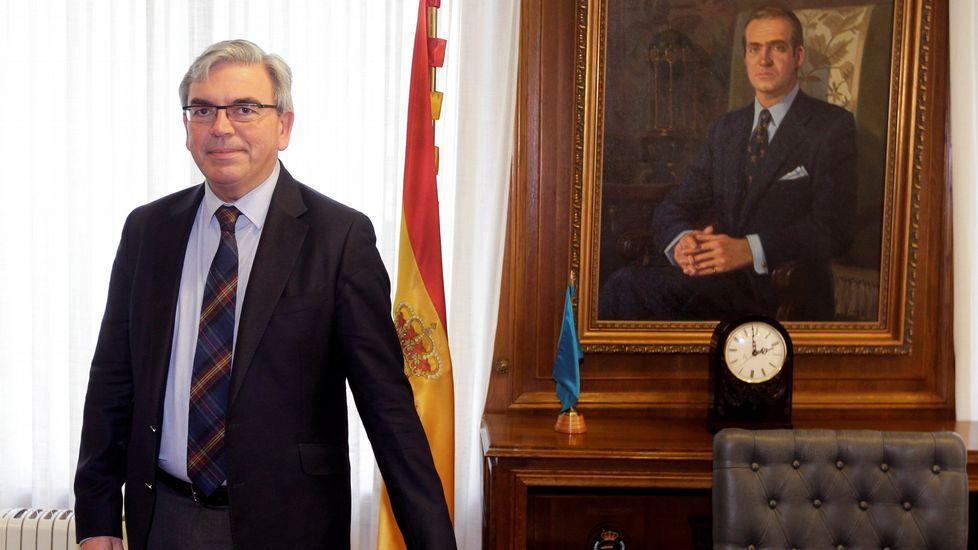El nuevo delegado del Gobierno en Asturias, Mariano Marín
