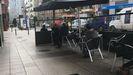 Vuelven los clientes a las terrazas de Oviedo