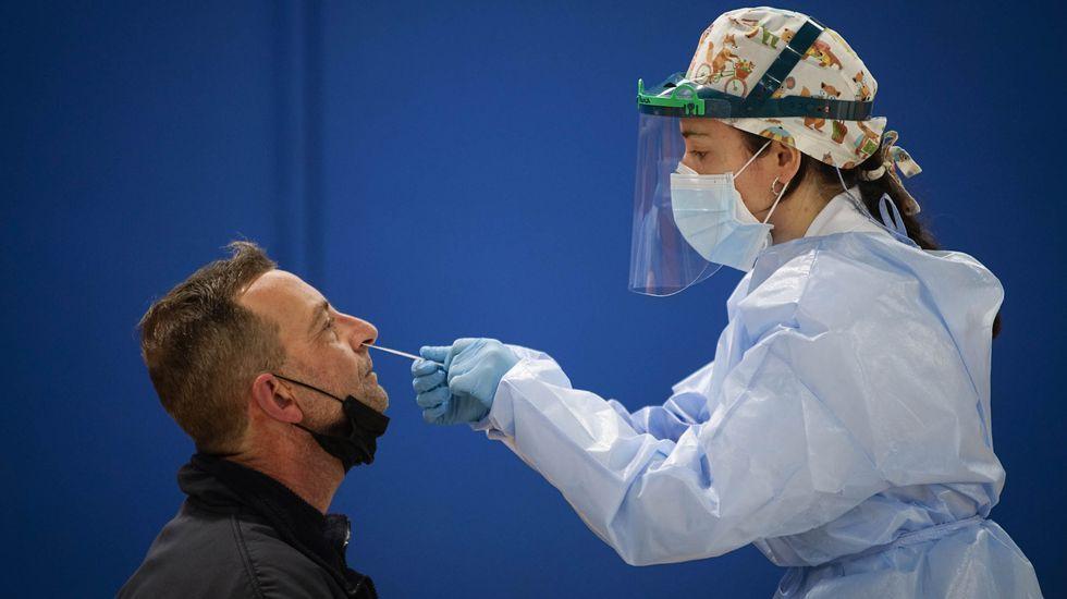 En Ourense se hacen cientos de pruebas a diario para detectar posibles casos